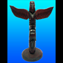Eagle and Killer Whale Totem