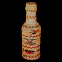 Basketry Wrapped Bottle
