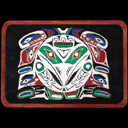 Totem Pole Top Plaque